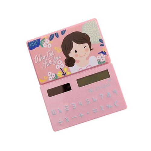 Ultra - thin Cute Mini Office Student Portable Calculator/Kids toys,A5