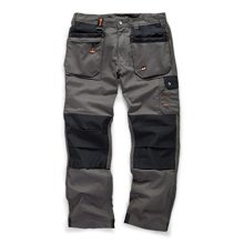 Scruffs WORKER PLUS Work Trousers Graphite Grey
