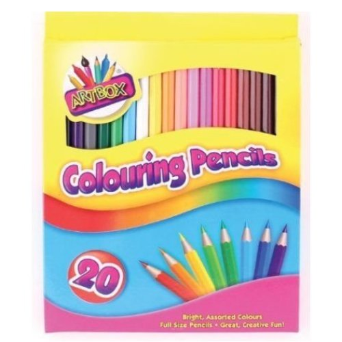 ARTBOX COLOURING PENCILS PACK OF 20 ASSORTED COLOURS