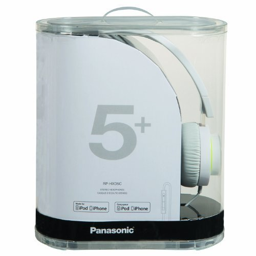 Panasonic RP HXD5C W Street Style Monitor Headphones White Discontinued by Manufacturer