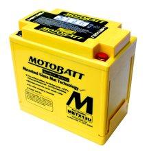 Motobatt MBTX12U AGM Motorcycle Battery (YTX14BS / YTX12BS / YTX14LBS)
