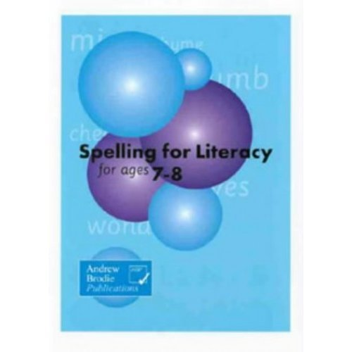 Spelling for Literacy for Ages 7-8 (Homework Today)