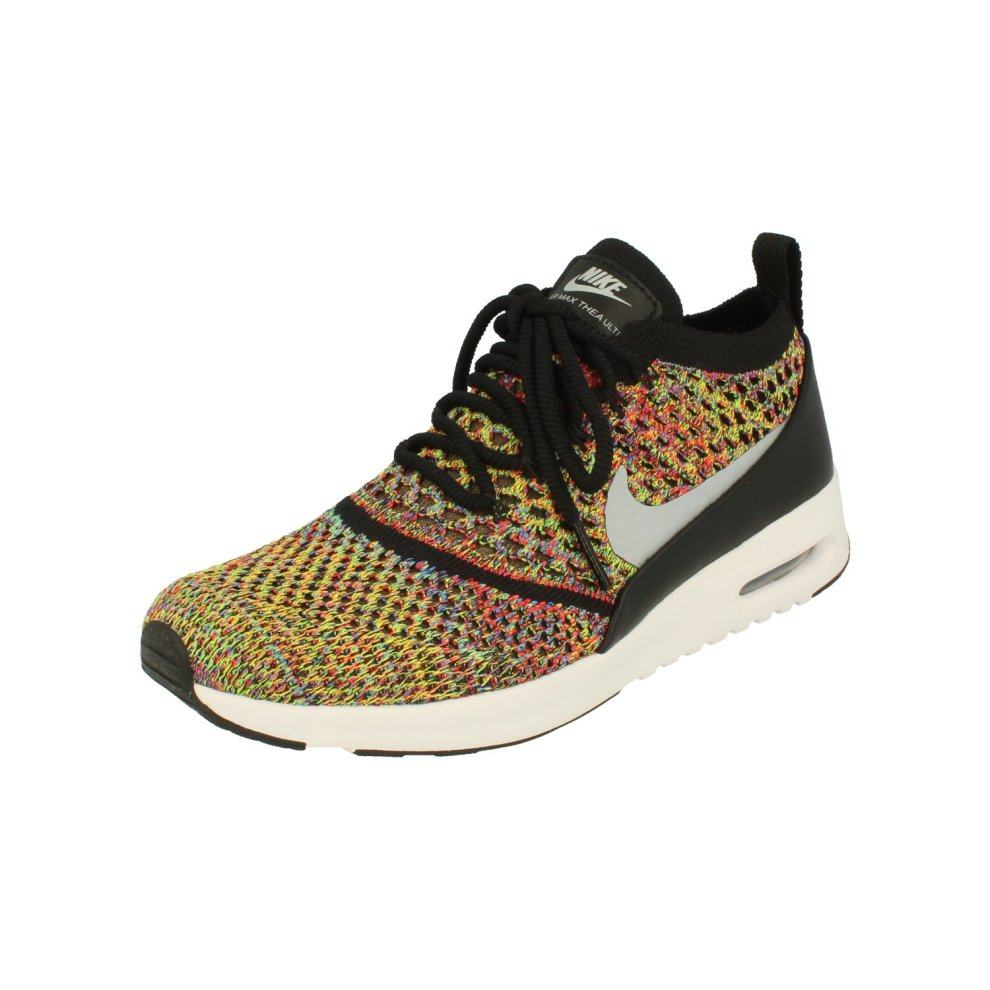 Nike Black Women's Lifestyle shoes | Nike Air Max Thea Ultra Flyknit 881175 400