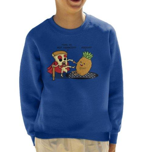 This Is Not Hawaii Pizza 300 Kid's Sweatshirt