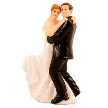 Wedding Figure Classic Couple Dancing - Cake Topper -  wedding dancing couple figure classic cake topper