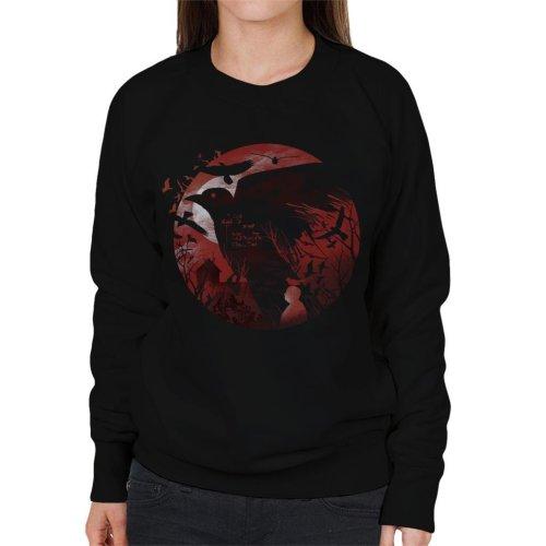Alfred Hitchcock Silhouette The Birds Women's Sweatshirt