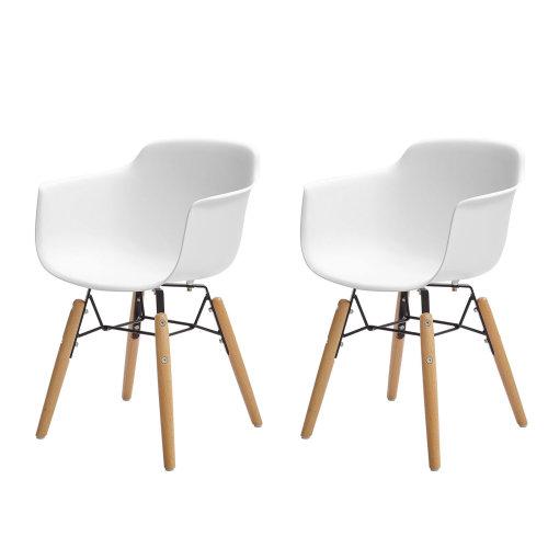 SoBuy® KMB13-Wx2, Set of 2 Kids Children Chair Armchair Desk Chair