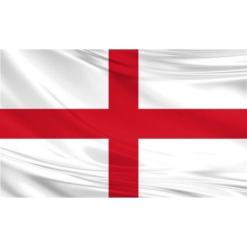 England Flag 5ft x 3ft Polyester Fabric Country National