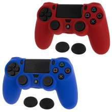 ZedLabz Sony PS4 Controller Skin & Thumb Grip Twin Pack