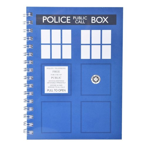 Doctor Who A5 TARDIS Notebook
