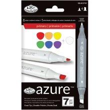 Azure Marker Set 7/Pkg-Primary Colors