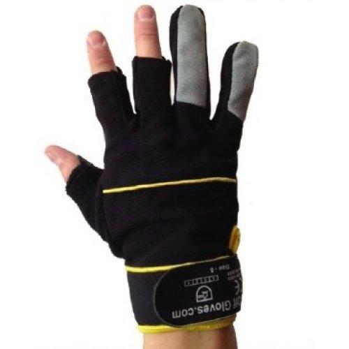 Fingerless Gloves - Ideal for Work, DIY, Builder's