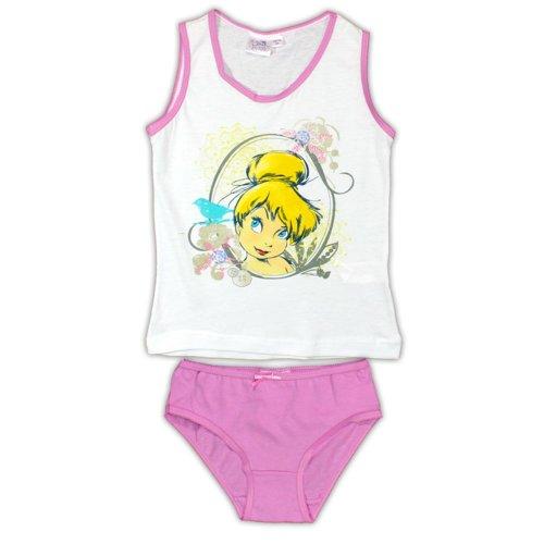 Tinkerbell Pants & Vest - Pink