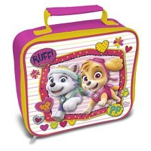 Paw Patrol Girls Rectangle Lunchbag, Pink - Lunch Bag Official Licensed Product -  paw patrol lunch bag pink official licensed product girls