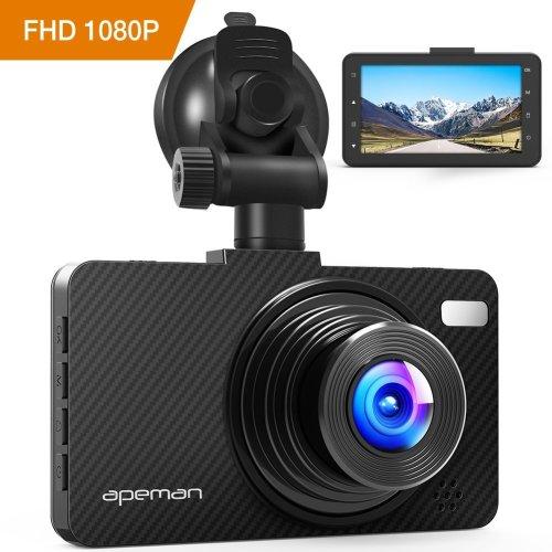 """APEMAN Dash Cam 1080P FHD 3.0"""" Screen DVR Car Dashboard Camera"""