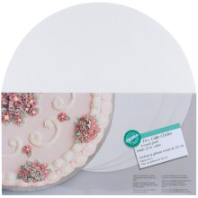 "Cake Boards-14"" Round White 6/Pkg"