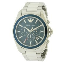 Emporio Armani Stainless Steel Chronograph Mens Watch AR6091