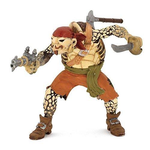"""Papo """"Turtle Mutant Pirate"""" Figure (Multi-Colour)"""