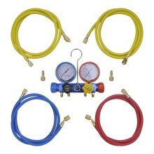4-way Manifold Gauge Set in Tool Kit