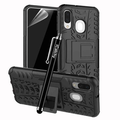 For Galaxy A40 Hybrid Shockproof Hard Case Cover