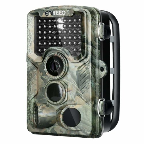 "ENKEEO PH760 Game Camera 1080P 16MP HD Trail Camera Wildlife Hunting 47pcs 850nm IR Night Vision IP56 Water Resistant with 0.2s Trigger Time 2.4""..."