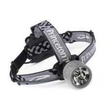 Princeton Tec Yukon HL 3 LED Hybrid Headlamp (Black)