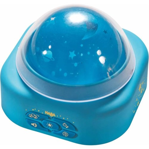 HABA Musical Projector Night Light Star Galaxy Blue 300805