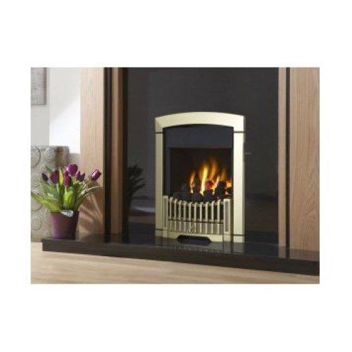 Designer Fire - Flavel FKPCBRSN Brass Rhapsody Plus Gas Fire - SC