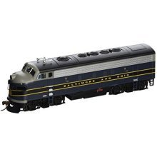 Bachmann Industries F7-A DCC Ready Diesel HO Scale Baltimore and Ohio Locomotive