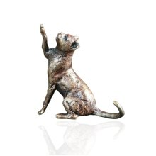 Bronze  - Cat Sitting Figure - Butler & Peach - 2025