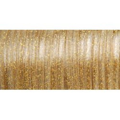 Gold Sparkle Pepperell RX100-26 Rexlace Plastic Craft Lace 3//32-Inch Wide