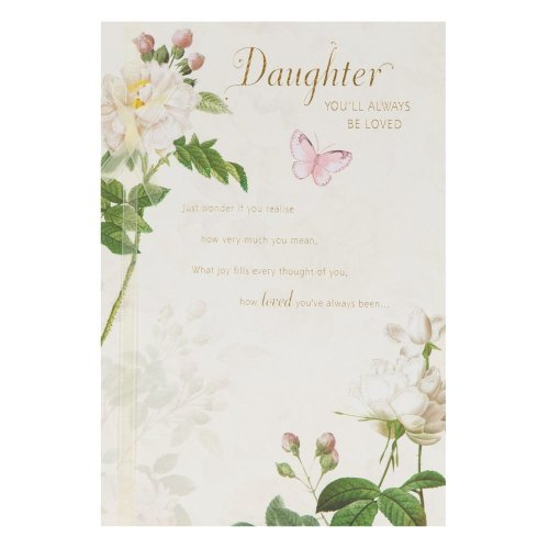 Hallmark Birthday Card For Daughter Youre Always Loved