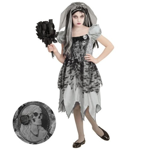 Ghostly Bride (158cm) - ghostly bride fancy dress costume halloween girl child day dead gothic  sc 1 st  OnBuy & Ghostly Bride (158cm) - ghostly bride fancy dress costume halloween ...
