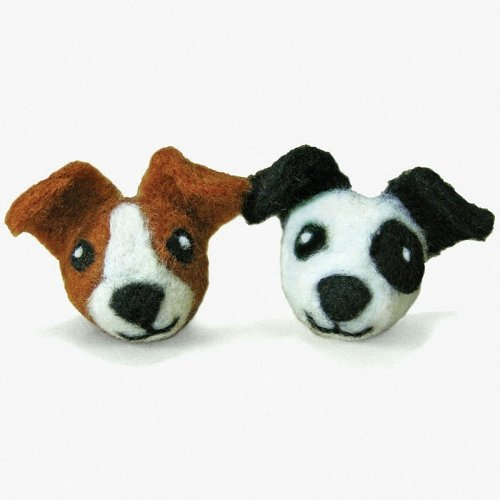 D72-73904 - Dimensions Needle Felting - Round & Wooly: Dogs