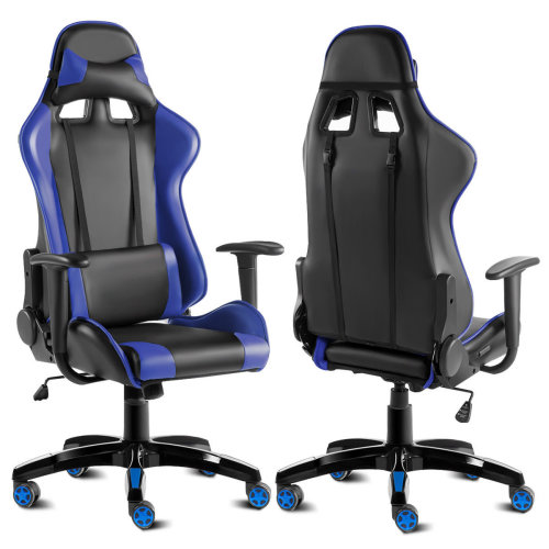 Goplus Recliner Office Chair High Back Racing Gaming