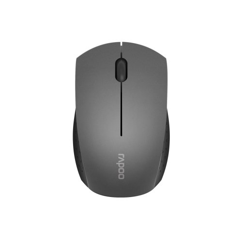 788992feee3 Rapoo 3360 2.4GHz Wireless Optical Mini Mouse Grey on OnBuy