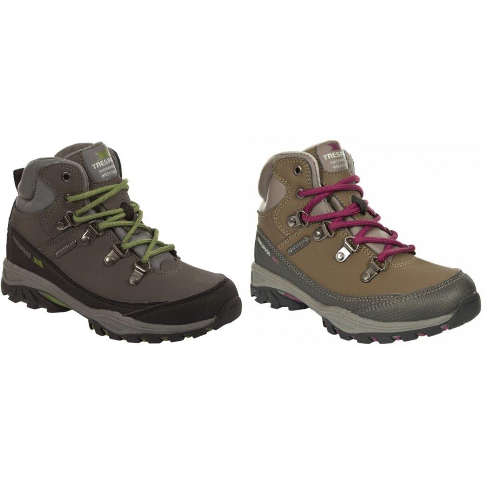 a398d0a9a9b Trespass Childrens/Kids Glebe Waterproof Lace Up Walking Boots