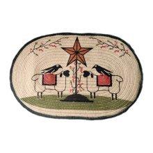 Retro Little Sheep Non-slip Decor Home/Kitchen/Bedroom Rug/Doormat 50x75cm