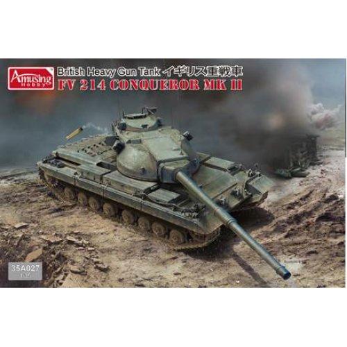 1:35 FV 214 Conqueror MK II Military Model Kit
