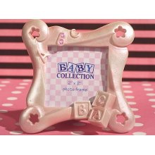 ABC Pink Baby Block Frame (2 x 2 inch)