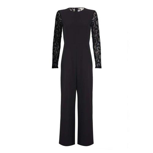 Mela London Womens/Ladies Lace Sleeve Jumpsuit