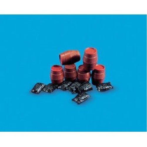 Sacks & barrels - OO/HO Accessories - Model Scene 5064 - free post